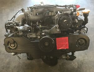 Impreza Subaru Ej20 Sohc W Egr 2 0l Replacement Engine For Legacy 2002