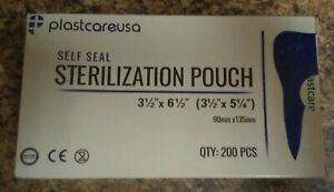 Self Sterilization 2000 Pouches Pouch Sterilizer Bags Dental Tattoo Nail
