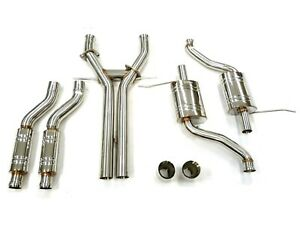 Dual Exit Catback Exhaust Fits 2011 19 Jeep Grand Cherokee 5 7l By Maximizer Hp