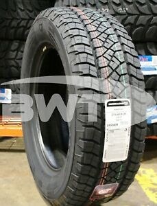 4 New General Grabber Apt 115t 60k Mile Tires 2756020 275 60 20 27560r20