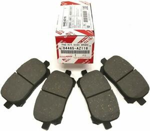 Genuine Oem Front Ceramic Brake Pads For Toyota Corolla Matrix 2003 2008