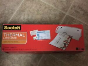 Scotch Thermal Laminator Tl902vp Brand New