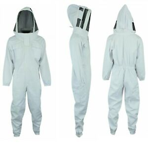 Safety Best Quality Cotton Beekeeping Beekeeper Bee Suit Fencing Veil S