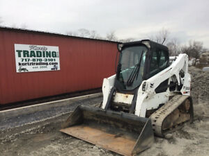 2015 Bobcat T650 Compact Track Skid Steer Loader W Cab Only 3000hrs