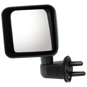 Ch1320271 Replacement Mirror For 2007 2018 Jeep Wrangler Driver Side Manual