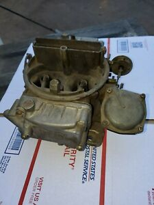 Holley 7002 1 650 Cfm Spreadbore Carburetor Perfect For A Chevy 350 Used