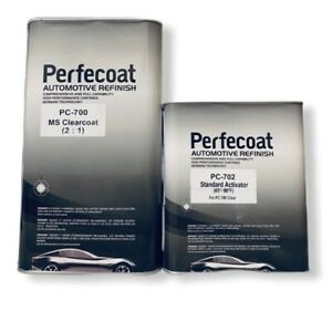 Automotive 2 1 Ms High Gloss Perfecoat Pc 700 Urethane Gallon Clear Coat Kit