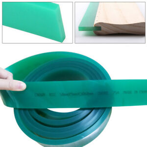 Top Flat Silk Screen Printing Squeegee Blade 70 Durometer Polyurethane Rubber Us