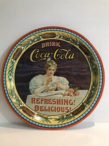 Coca Cola Metal Tray 75th Anniversary Numbered Kentucky Hilda Clark Collectible
