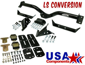 1955 56 57 Chevy Belair Deluxe Ls Engine And Transmission Mount Kit