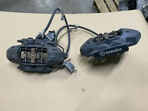 2016 2019 Mustang Gt350 Rear Brake Calipers Pair Brembo E Brake Oem