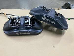 2016 2019 Mustang Gt350 Front Brake Calipers Brembo Pair Oem