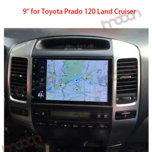 For Toyota Prado 120 Land Cruiser Dsp 2 5d Ips Android 9 1 Car Stereo Gps Navi
