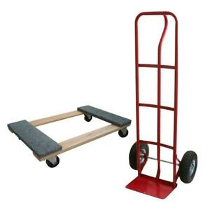 Furniture Dolly Moving Heavy Duty Truck Dolly Kit Combo Appliance Utility Set
