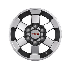 Genuine Trd Alloy Wheels For 05 20 Tacoma And 07 12 Fj Cruiser Set Of 4 New Oem