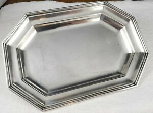 Beautiful Vintage Tiffany Co England Silver Plated Small Tip Tray