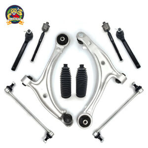 For 2005 2010 Honda Odyssey 10pc Front Lower Aluminum Control Arm Suspension Kit