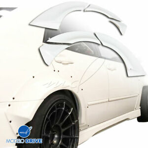 Frp Msv Wide Body 50mm Fender Flares rear 6pc For Lexus Is Series Is300 0