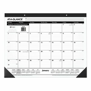 At a glance Ruled Desk Pad 22 X 17 2020 Sk2400 240 Pack