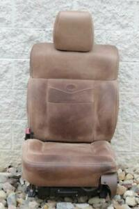 2004 2008 Ford F150 King Ranch Front Tan Brown Leather Driver Seat 04 05 06 07