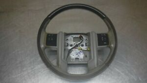 Ford F250 Superduty F 350 Leather Wood Steering Wheel 08 16 F 250