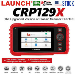 Launch Obd2 Scanner Crp129x Automotive Code Reader Android Diagnostic Scan Tool