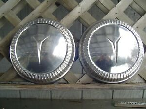 Vintage Max Wedge Plymouth Dodge Chrysler Hubcaps Wheel Covers Center Caps Mopar