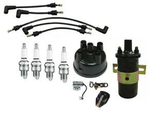 Ford Naa 600 601 800 801 900 Tractor Tune Up Kit W 12 Volt Coil