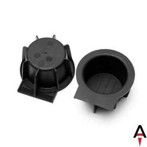 2 Pc Center Console Cup Holder Rubber Inserts For 04 14 Ford F150 2l1z7813562aaa