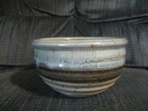 Old Pottery Bowl 3quot; Tall