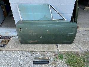 1968 Dodge Charger Door Right Passenger Shell Original Paint Nice Clean 68 1969