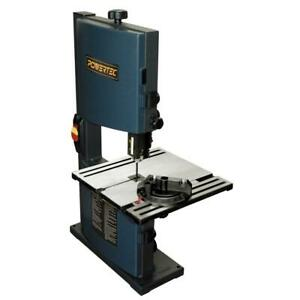 Bandsaw Benchtop Woodworking Wood Cutting Cast Iron Base Heavy Duty Shop Tool