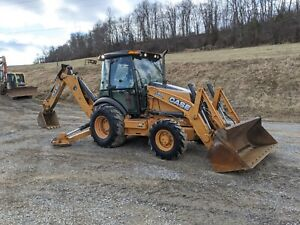 2012 Case 580 Super N Wt Backhoe Loader Ext hoe 4x4 Pilot Construction Machine