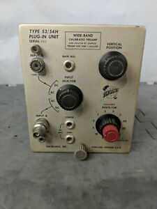 Tektronix Plug in Unit Type 53 54h