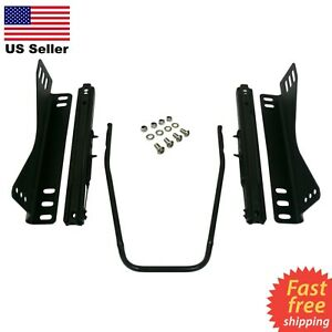 Universal Sliders Rails Side Bracket Invictus Momo Omp Nrg Sparco Recaro Seats