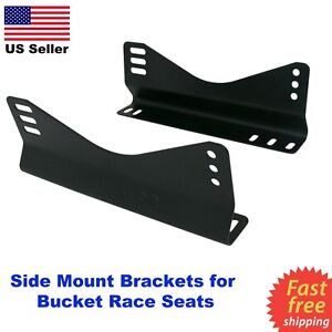 Steel Side Mount Bracket Invictus Momo Omp Nrg Sparco Recaro Race Bucket Seats