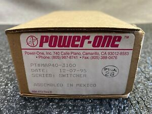 Power One Map40 3100 Power Supply