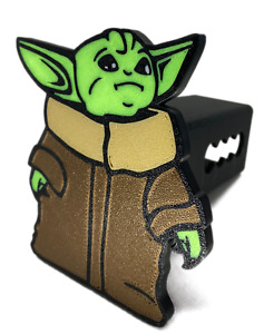 Baby Yoda Trailer Hitch Cover