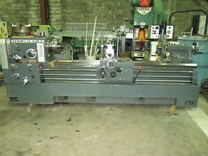 Geminis Ge 650 Gap Bed Lathe 26 33 X 80 In mm With Tooling