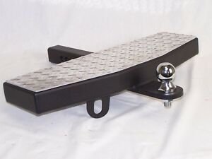 24 Wide Extension Hitch Step 2 Receiver Free 2 Trailer Towing Ball Usa Made