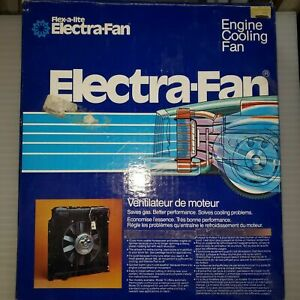 Flex A Lite Electric Fan Model 20 Nos