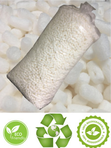 Biodegradable Packing Peanuts Popcorn Shipping Recyclable Fill 3 5 14 Cu Ft