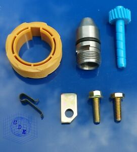 Gm Muncie Th350 Powerglide Speedometer Gear Kit 20 Driven 8 Drive Bullet Clamp