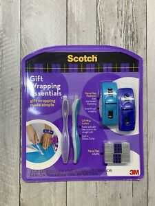 Scotch Gift Wrapping Essentials Cutters Dispensers Tape Pads New Sealed 2008