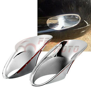 Car Chrome Front Fog Light Cover Molding Trim For Honda Accord 4door 2008 10 Fm