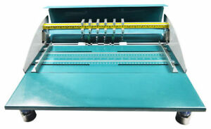 18in 460mm Electric Creaser scorer perforator Machine W Workbench 110v Premium
