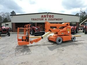 2011 Jlg E400a Narrow Articulating Boom Lift Watch Video Only 767 Hours