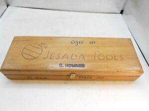 Carbide Ogee Router Bit Set 800 715 By Jesada