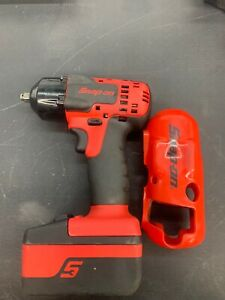Snap On 18v Cordless Impact Driver Ct8810a 4ah Lithium Ion Battery