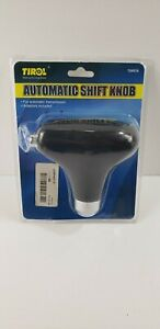 Tirol Hand Stitched Gear Shift Knob Cover Universal Fit For Automatic Car Black